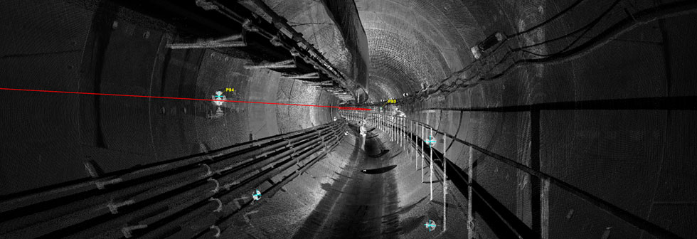 As-build survey of shield tunnel
